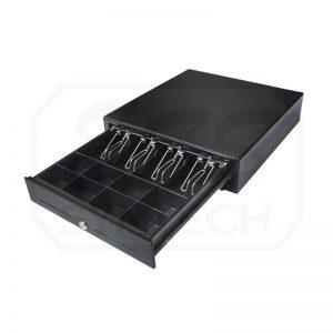 ลิ้นชักเก็บเงิน Maken MK420 RJ11 เด้งเปิดอัตโนมัติ รองรับเครื่องพิมพ์ใบเสร็จทุกรุ่น Cash Drawer