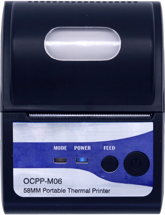 เครื่องพิมพ์ใบเสร็จพกพา mobile printer เครื่องพิมพ์พกพา เชื่อมต่อ Bluetooth NITA M06