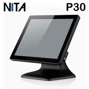 เครื่อง pos เครื่องแคชเชียร์ เครื่องคิดเงินร้านอาหาร เครื่องคิดเงิน pos เครื่อง pos ราคา เครื่อง pos all in one terminal windows Bezel free flat screen Fanless Water dust proof NITA P30 CPU Core i3 touch screen Point of sale