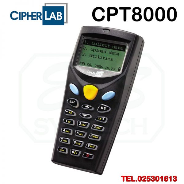 Cipherlab-8000-Pocket-Inventory-Scanner-Data-collector-stock