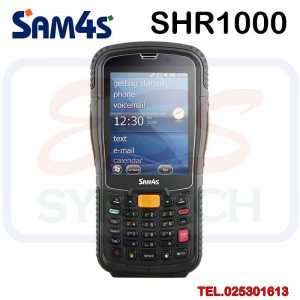 SHR-1000 SAM4S / MYDUS Mobile Computer เกรดอุตสาหกรรม Windows Mobile 6.5