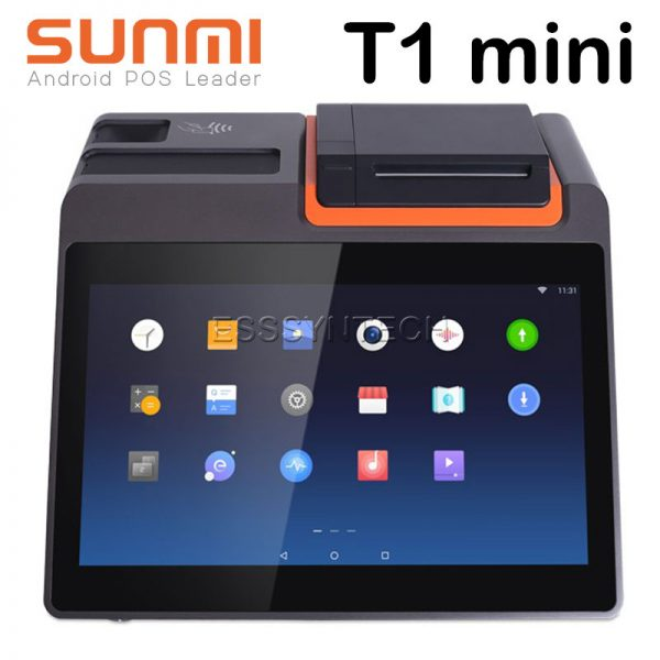 Sunmi-T1-mini-Smart-All-in-one-Android-7.1-POS-Point-of-sale-System-terminal-cashier-Built-in-80mm-Auto-Cutter-Printer-touch-screen-11.6-inch-Bluetooth-WiFi-LAN-Loyverse