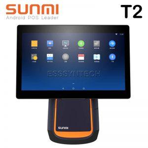 เครื่อง pos เครื่องแคชเชียร์ เครื่องคิดเงินร้านอาหาร เครื่องคิดเงิน pos เครื่องคิดเงิน ocha เครื่อง pos ราคา เครื่อง pos all in one เครื่องขายหน้าร้าน ระบบแอนดรอย์ NITA SUNMI T2 Android POS All in One หน้าจอ 15.6 นิ้ว 16GB ROM 2GB RAM Android 7.1