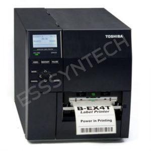 เครื่องพิมพ์ฉลาก เครื่องพิมพ์บาร์โค้ด เครื่องพิมพ์ฉลากบาร์โค้ด พิมพ์บาร์โค้ด พิมพ์บาร์โค้ดสินค้า Barcode Printer Barcode ยี่ห้อ Toshiba รุ่น B-EX4T1 พร้อมโปรแกรมพิมพ์ฉลาก
