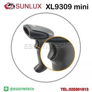 เครื่องสแกนบาร์โค้ดไร้สาย เครื่องอ่านบาร์โค้ดไร้สาย หัวอ่าน 1 มิติ SUNLUX XL9309 mini 1D เลเซอร์ Wireless Barcode Scanner Laser USB มีแบตเตอร์รี่ในตัว ความถี่ 2.4ghz Wireless Barcode Scanner High Quality