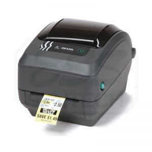 Zebra GK420t Printer Label Barcode Thermal Sticker เครื่องพิมพ์ฉลาก เครื่องพิมพ์บาร์โค้ด เครือ่งพิมพ์สติกเกอร์ desktop label printer