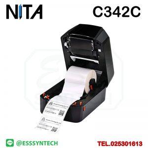 เครื่องพิมพ์บาร์โค้ด เครื่องพิมพ์ฉลาก เครื่องปริ้นสติกเกอร์ เครื่องพิมพ์บาร์โค้ด ราคาถูก เครื่องปริ้นบาร์โค้ด เครื่องพิมพ์ฉลากสินค้า ปริ้นบาร์โค้ด barcode printer Label Printers sticker printer direct thermal printer ribbon Labels printing label printer for shipping label printer address Desktop wristband NITA Wincode C342C