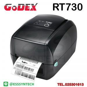 เครื่องพิมพ์บาร์โค้ด เครื่องพิมพ์ฉลาก เครื่องปริ้นสติกเกอร์ เครื่องพิมพ์บาร์โค้ด ราคาถูก เครื่องปริ้นบาร์โค้ด เครื่องพิมพ์ฉลากสินค้า ปริ้นบาร์โค้ด barcode printer Label Printers sticker printer direct thermal printer ribbon Labels printing label printer for shipping label printer address Desktop wristband Godex RT730