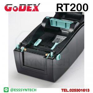 เครื่องพิมพ์บาร์โค้ด เครื่องพิมพ์ฉลาก เครื่องปริ้นสติกเกอร์ เครื่องพิมพ์บาร์โค้ด ราคาถูก เครื่องปริ้นบาร์โค้ด เครื่องพิมพ์ฉลากสินค้า ปริ้นบาร์โค้ด barcode printer Label Printers sticker printer direct thermal printer ribbon Labels printing label printer for shipping label printer address Desktop wristband Godex RT200