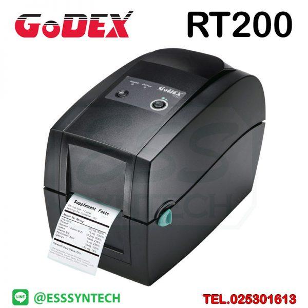 barcode-printer-Label-Printers-sticker-printer-direct-thermal-printer-ribbon-Labels-printing-label-printer-for-shipping-label-printer-address-Godex-RT200-RT-200-Desktop-Printer-2-inch