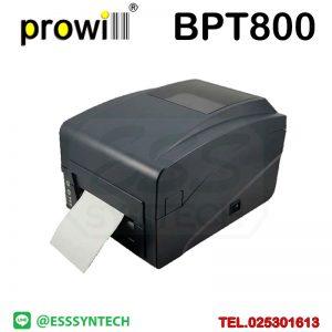 เครื่องพิมพ์บาร์โค้ด เครื่องพิมพ์ฉลาก เครื่องปริ้นสติกเกอร์ เครื่องพิมพ์บาร์โค้ด ราคาถูก เครื่องปริ้นบาร์โค้ด เครื่องพิมพ์ฉลากสินค้า ปริ้นบาร์โค้ด barcode printer Label Printers sticker printer direct thermal printer ribbon Labels printing label printer for shipping label printer address Desktop wristband Prowill BP-T800