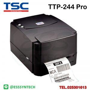 เครื่องพิมพ์บาร์โค้ด เครื่องพิมพ์ฉลาก เครื่องปริ้นสติกเกอร์ เครื่องพิมพ์บาร์โค้ด ราคาถูก เครื่องปริ้นบาร์โค้ด เครื่องพิมพ์ฉลากสินค้า ปริ้นบาร์โค้ด barcode printer Label Printers sticker printer direct thermal printer ribbon Labels printing label printer for shipping label printer address Desktop wristband TSC TTP-244 Pro