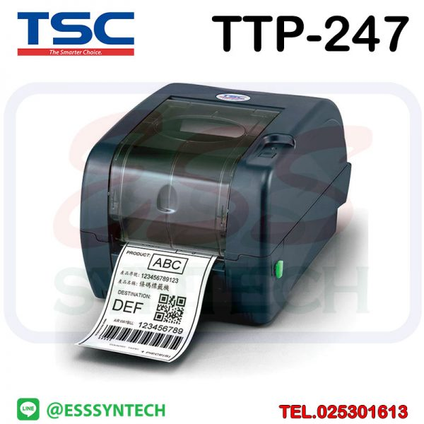 barcode-printer-Label-Printers-sticker-printer-direct-thermal-printer-ribbon-Labels-printing-label-printer-for-shipping-label-printer-address-TSC-TTP247-TTP-247-PLUS