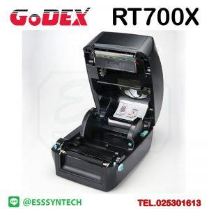 เครื่องพิมพ์บาร์โค้ด เครื่องพิมพ์ฉลาก เครื่องปริ้นสติกเกอร์ เครื่องพิมพ์บาร์โค้ด ราคาถูก เครื่องปริ้นบาร์โค้ด เครื่องพิมพ์ฉลากสินค้า ปริ้นบาร์โค้ด barcode printer Label Printers sticker printer direct thermal printer ribbon Labels printing label printer for shipping label printer address Desktop wristband Godex RT700 RT700X