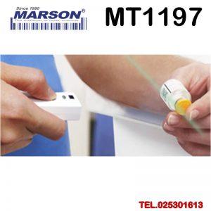 Pocket Barcode Scanner เครื่องอ่านบาร์โค้ดไร้สาย เครื่องสแกนบาร์โค้ดไร้สาย ตัวสแกนบาร์โค้ดไร้สาย บลูทูช Marson MT-1197 Anti-Microbial Bluetooth 1D