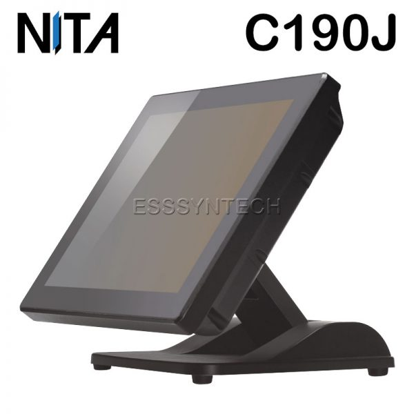 pos-all-in-one-terminal-windows-Bezel-free-flat-screen-Fanless-Water-dust-proof-NITA-C190J-J1900-touch-screen-Point-of-sale
