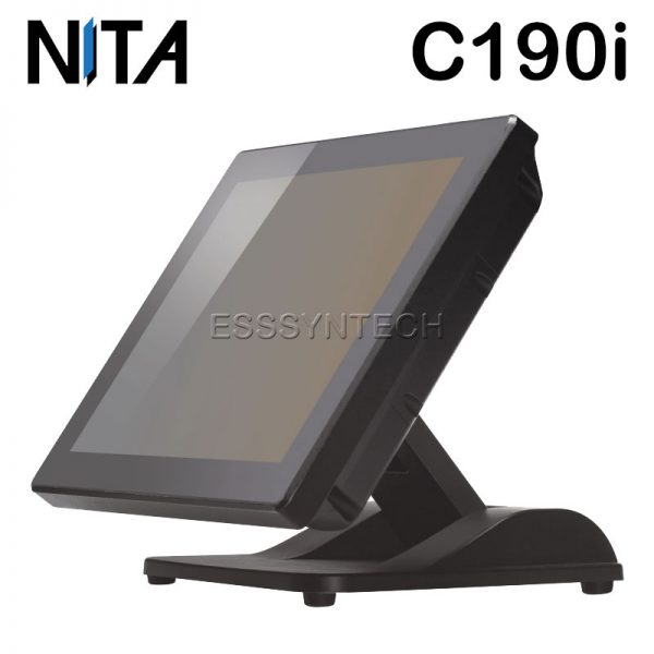pos-all-in-one-terminal-windows-Bezel-free-flat-screen-Fanless-Water-dust-proof-NITA-C190i-Core-i3-touch-screen-Point-of-sale