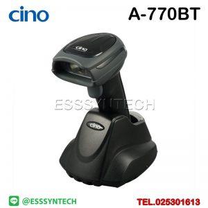เครื่องสแกนบาร์โค้ด เครื่องอ่านบาร์โค้ด เครื่องสแกนบาร์โค้ดไร้สาย เครื่องสแกนบาร์โค้ดราคา เครื่องอ่าน qr code ตัวสแกนบาร์โค้ด ที่สแกนบาร์โค้ด สแกนบาร์โค้ดสินค้า Cino A770BT Wireless Bluetooth Handheld Barcode Scanner 1D 2D QR Code Cordless USB Imager base Charger