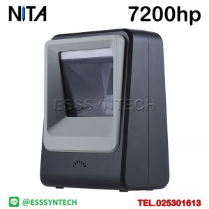 Desktop Barcode Scanners 1D 2D QR Code Reader Auto Scan Omnidirectional Screen Bar code Scanner USB Mobile Payment Casheir POS Check-in NITA 7200hp