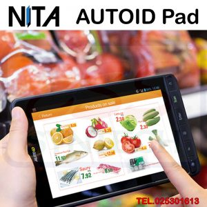 NITA AUTOID Pad Industrial grade Android tablet with barcode reader scaner High quality 7 inch large screen Support 1D 2D RFID NFC Camera GPS OTG Long battery แท็บเล็ตมีหัวอ่านบาร์โค้ด 1D 2D ในตัว สำหรับงานคลังสินค้า ทนทานสูง