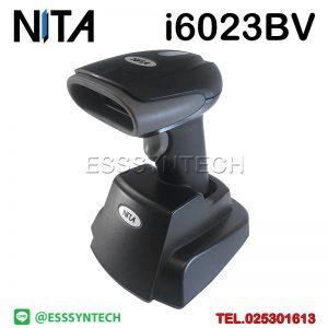 เครื่องสแกนบาร์โค้ด เครื่องอ่านบาร์โค้ด เครื่องสแกนบาร์โค้ดไร้สาย เครื่องสแกนบาร์โค้ดราคา เครื่องอ่าน qr code ตัวสแกนบาร์โค้ด ที่สแกนบาร์โค้ด สแกนบาร์โค้ดสินค้า Wireless Barcode Scanner 2D QRCode Handheld Barcode Reader 2.4ghz Warehouse Cordless with USB Base Charging Charger NITA i623BV