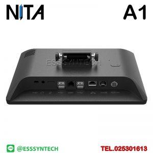 เครื่องขายหน้าร้าน NITA A1 Android POS Terminal แบบ Android 7.1 หน้าจอ10.1 นิ้ว ราคาประหยัด แยกเครื่องพิมพ์ Andorid Point of sale POS terminal cashier system all in one 10.1 inch touch screen Full HD loyverse pos android 7.1 Bluetooth WiFi LAN NITA A1