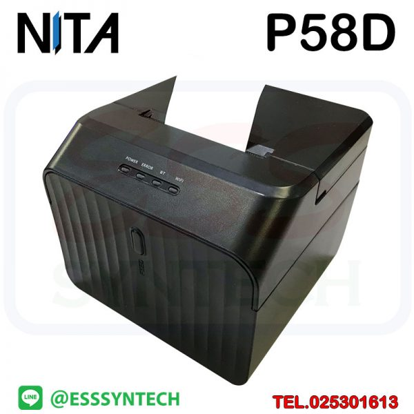 NITA-Milestone-58mm-POS-Thermal-Receipt-Bill-Ticket-Printer-Support-Cash-USB-Computer-Printer-Receipt-MHT-P58D