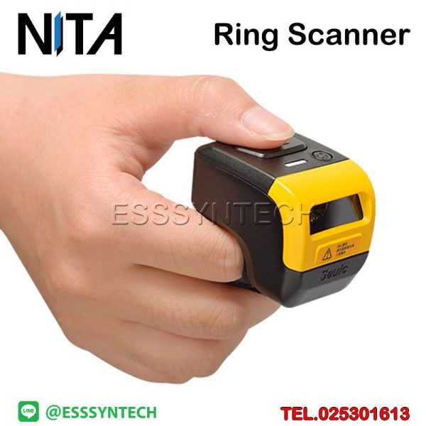 AUTOID-Ring-Barcode-scanner-Bluetooth-1D-2D-iOS-iPhone-iPad-Smartphone-Android-Windows-MicroUSB-Battery-500mAh-storage