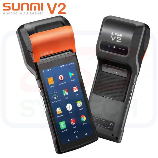Sunmi V2 Portable Android POS Device with Built In thermal Printer 58mm