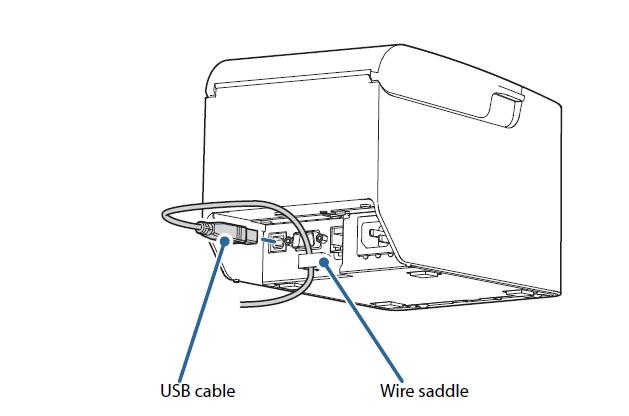 เอปสัน TM-T82X POS Printer-USB Interface
