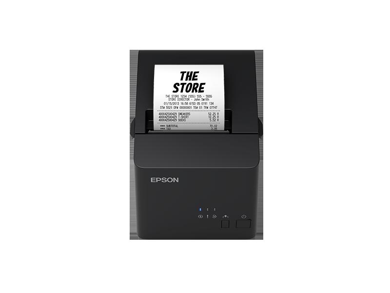 Epson tmt82x เอปสัน TM-T82X POS Printer เครื่องพิมพ์ใบเสร็จอย่างย่อ ขนาด 3 นิ้ว ไม่ใช้หมึก ราคาพิเศษ