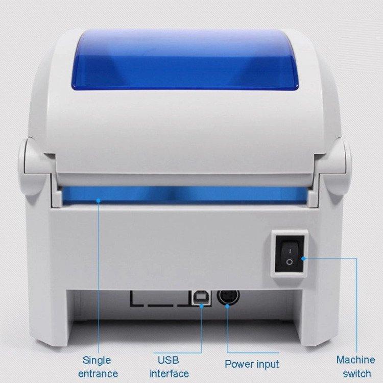 Gprinter GP-1324D Direct Thermal Printer 1D 2D QR Barcode Label Sticker Address USB 120MM 203dpi Automatic paper calibration เครื่องพิมพ์บาร์โค้ด เครื่องพิมพ์ฉลาก แบบไม่ใช้หมึก ระบบ Direct Thermal เครื่องปริ้นสติกเกอร์ เครื่องปริ้นฉลากยา พร้อมโปรแกรม เครื่องปริ้น barcode Gprinter GP-1324D