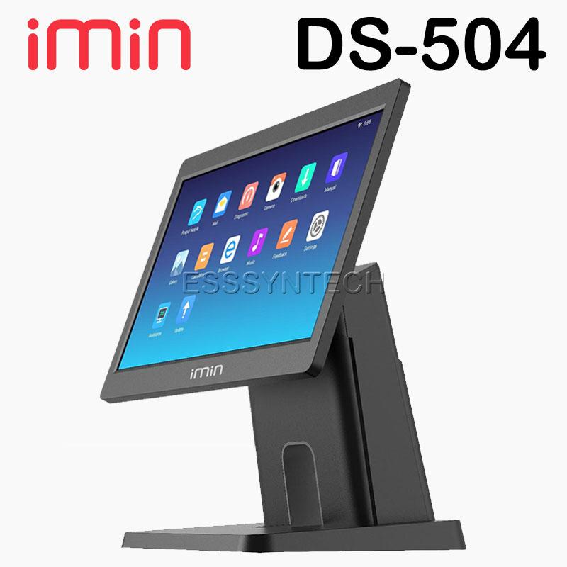 เครื่อง pos เครื่องแคชเชียร์ เครื่องคิดเงินร้านอาหาร เครื่องคิดเงิน pos ชุดขายหน้าร้าน ระบบแอนดรอย์ iMiN DS 504 Android POS จอใหญ่ 15.6 นิ้ว แบบไม่มีเครื่องพิมพ์ในตัว iMiN DS D3 504 Point of sale POS terminal cashier system all in one 15.6 inch touch screen loyverse pos android 7.1 Bluetooth WiFi LAN