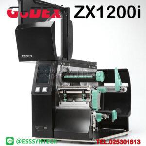 เครื่องพิมพ์บาร์โค้ด เครื่องพิมพ์ฉลาก เครื่องปริ้นสติกเกอร์ เครื่องพิมพ์บาร์โค้ด godex เครื่องพิมพ์บาร์โค้ด ราคาถูก เครื่องปริ้นบาร์โค้ด เครื่องพิมพ์ฉลากสินค้า ปริ้นบาร์โค้ด Godex ZX1200i ZX-1200i Barcode Printer Label Sticker Industrail Thermal Transfer Direct Thermal Speed 10 inches per second
