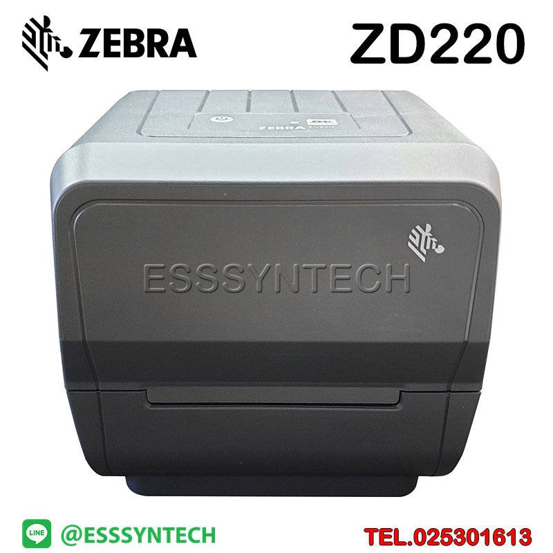 เครื่องปริ้นสติกเกอร์ เครื่องพิมพ์บาร์โค้ด Zebra ZD220 ปริ้นบาร์โค้ด เครื่องพิมพ์บาร์โค้ด เครื่องพิมพ์ฉลาก เครื่องพิมพ์บาร์โค้ดราคาถูก เครื่องปริ้นบาร์โค้ด เครื่องพิมพ์ฉลากสินค้าBarcode printer Label Printers sticker printer direct thermal printer ribbon Labels printing label printer for shipping label printer address Desktop wristband