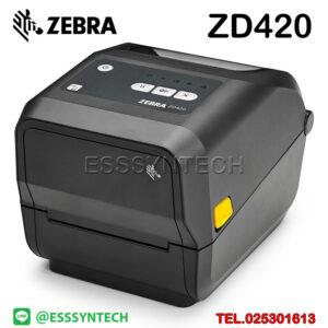 เครื่องปริ้นสติกเกอร์ เครื่องพิมพ์บาร์โค้ด Zebra zd420 ปริ้นบาร์โค้ด เครื่องพิมพ์บาร์โค้ด เครื่องพิมพ์ฉลาก เครื่องพิมพ์บาร์โค้ดราคาถูก เครื่องปริ้นบาร์โค้ด เครื่องพิมพ์ฉลากสินค้าBarcode printer Label Printers sticker printer direct thermal printer ribbon Labels printing label printer for shipping label printer address Desktop wristband
