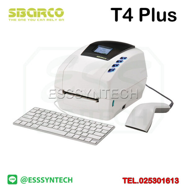 barcode-printer-Label-Printers-sticker-printer-direct-thermal-printer-ribbon-Labels-printing-label-printer-for-shipping-label-printer-address-Desktop-Sbarco-T4+