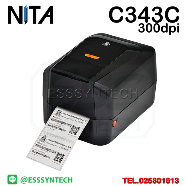 barcode-printer-Label-Printers-sticker-printer-direct-thermal-printer-ribbon-Labels-printing-label-printer-for-shipping-label-printer-address-300-dpi-NITA-Wincode-C343C-C-343C-3