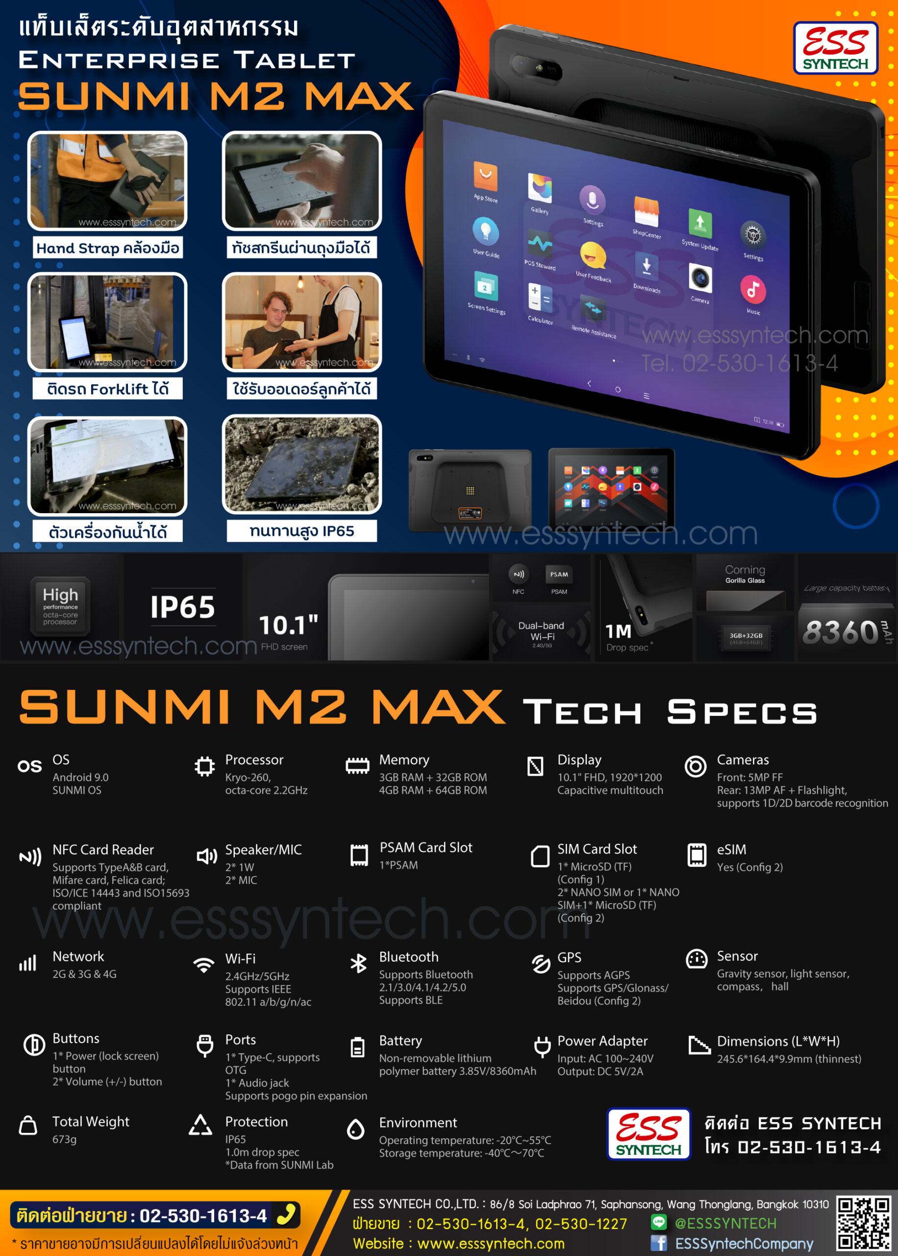 M2 MAX Datasheet