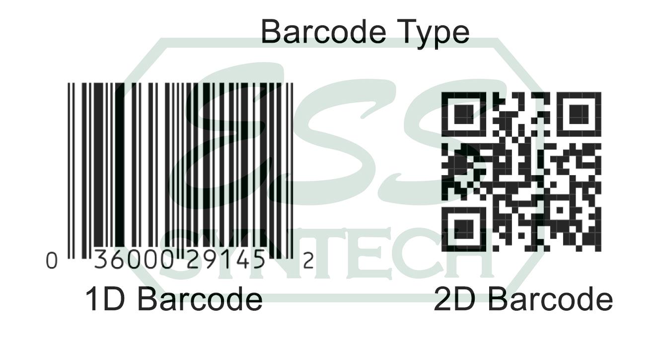 บาร์โค้ด 1D กับ 2D แตกต่างกันอย่างไร