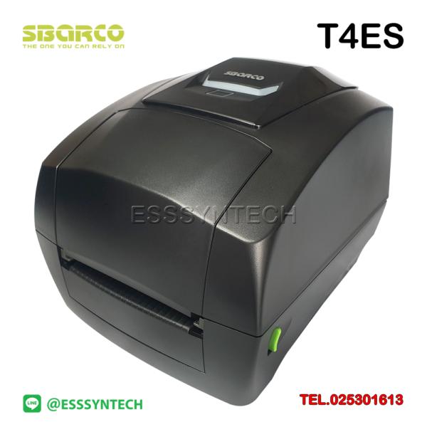 เครื่องพิมพ์ฉลากสินค้า-Sbarco-T4ES-เครื่องพิมพ์บาร์โค้ดพร้อมโปรแกรม-203-dpi-Desktop-Sticker-label-printer