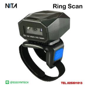 เครื่องยิงบาร์โค้ดแบบสวมนิ้ว Finger Ring Bracode Scanner ระบบไร้สาย Bluetooth เชื่อมต่อโทรศัพท์