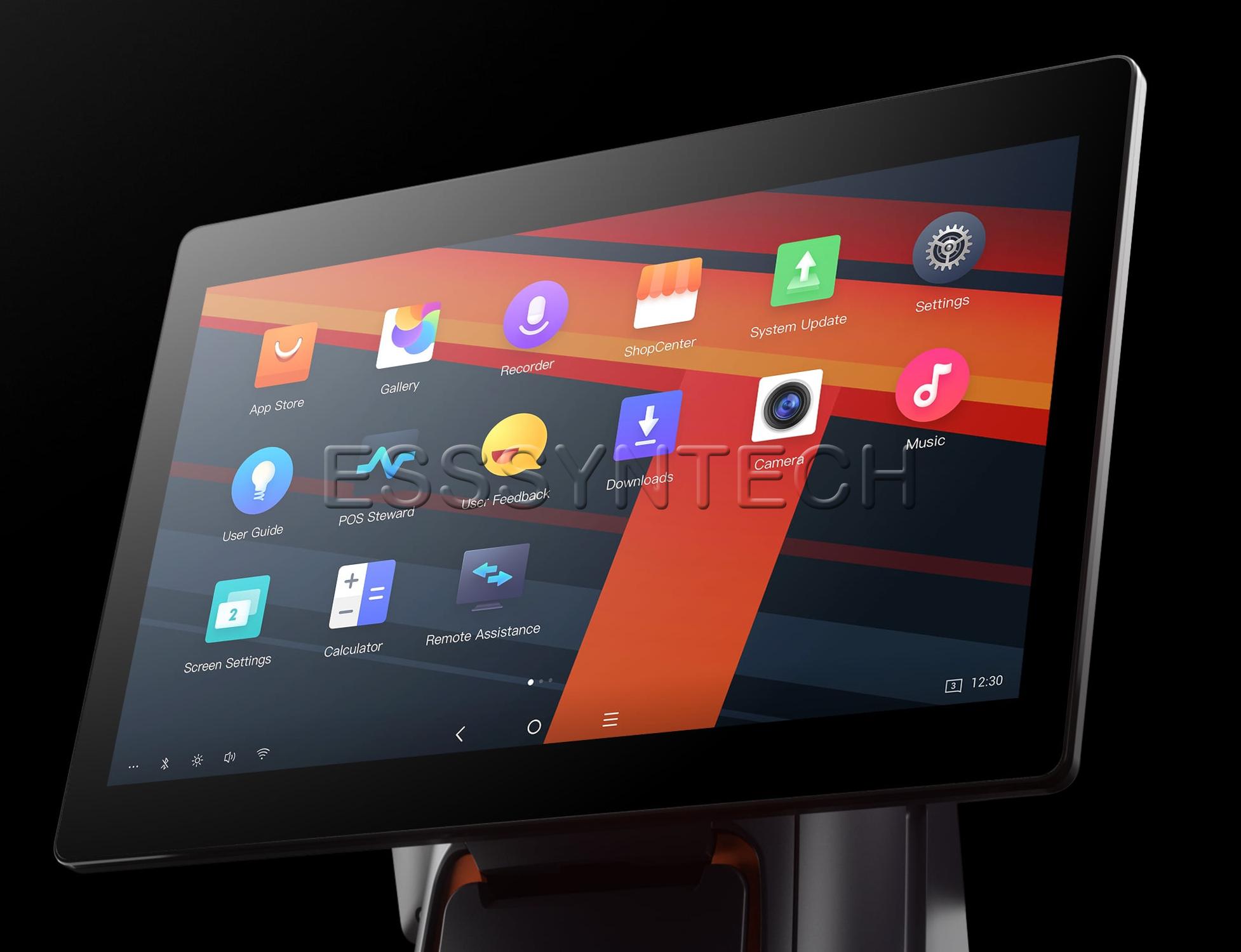 เครื่องแคชเชียร์ pos android ที่แรงที่สุด Sunmi T2s RAM 3 GB ROM 32GB เครื่อง pos all in one เร็ว แรงที่สุด