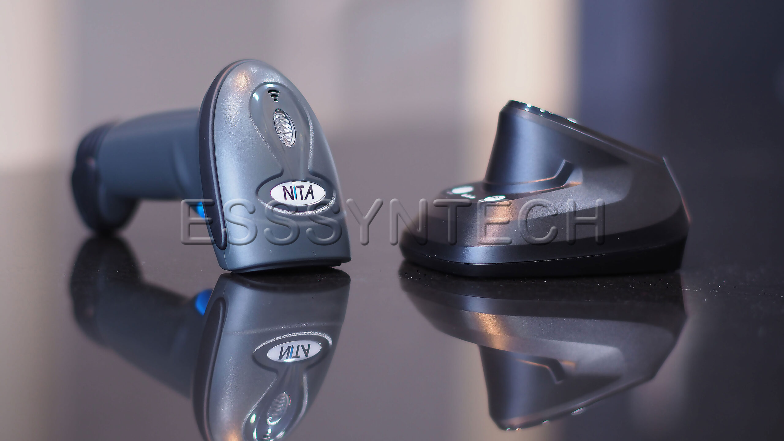 เครื่องยิงบาร์โค้ด ไร้สาย NITA 3208BT Barcode Scanner Bluetooth 2D USB