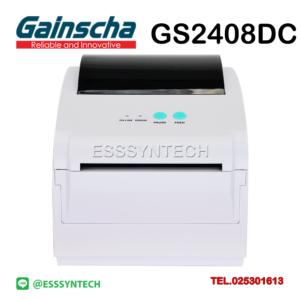 เครื่องพิมพ์ Label สติกเกอร์ พิมพ์ใบปะหน้า Shopee Lazada ระบบความร้อน ไม่ใช้หมึก Gainscha Gprinter GS2408DC
